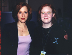 Gillian Anderson and Me!